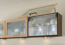 kitchens with glass cabinets frosted glass cabinet doors