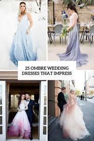 ombré wedding dress 25 ombre wedding dresses that impress weddingomania