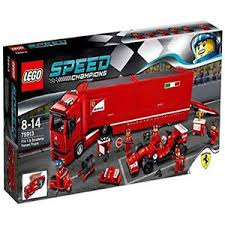ferrari speed chions speed chions 75913 f14 t scuderia ferrari truck set new