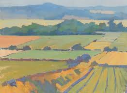painting the south downs with barry freeman using jackson u0027s aqua