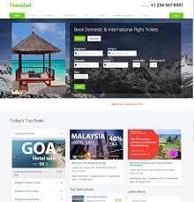 bootstrap sites templates 10 best free travel hotel html5 templates designmaz