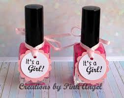 baby nail polish favor tags nail polish tags baby shower