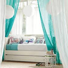 Girls Day Beds by Wonderful Girls Daybed With Trundle And Beautiful Curtains