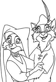 disney robin hood coloring pages wecoloringpage