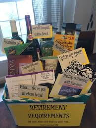 Cute retirement t basket Diy Pinterest