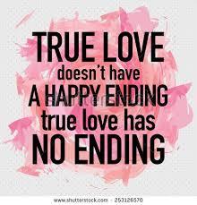 true doesnt happy ending stock vector 253126570