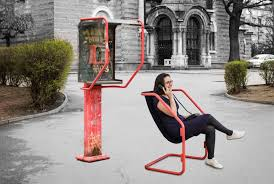 telephone booth martin angelov upcycles an abandoned telephone booth into
