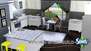 Beach House Kitchens by The Sims 3 Modern Beach House Speed Build Part 2 The Kitchen