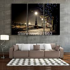 aliexpress buy free shipping print stretched led canvas