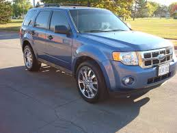 Ford Escape Blue - ford escape questions how much does it cost to get a trailer