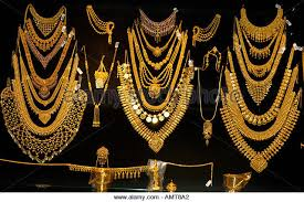 kerala gold jewellery stock photos kerala gold jewellery stock