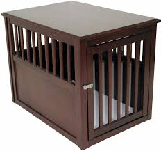 How To Build End Table Dog Crate by Amazon Com Crown Pet Products Pet Crate Wood Dog Crate Furniture