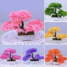 Fake Tree Home Decor by Online Get Cheap Artificial Bonsai Trees Aliexpress Com Alibaba