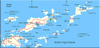 map of the bvi sailing the islands page 1