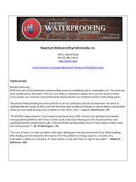 download basement waterproofing docshare tips