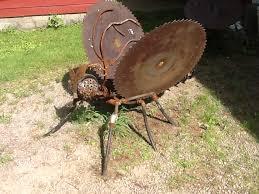 Metal Bugs Garden Decor Scrap Metal Buzz Saw Butterfly Sculpture Scrap Metal Art My