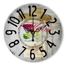 kitchen clocks modern aliexpress com buy large dining hall decoration wall clock