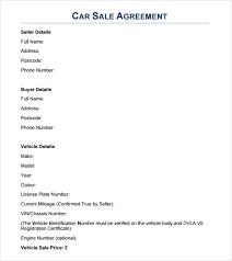 sales agreement samples