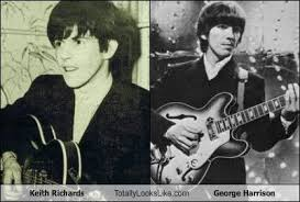Keith Richards Memes - keith richards totally looks like george harrison totally looks like