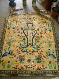 Tunisian Rug Casa Del Herrero Fountain Tile And Persian Tunisian Art Rep