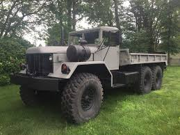 old military jeep truck new paint 1970 kaiser jeep m813 military vehicles pinterest