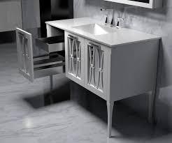 Modern Bathroom Vanities For Less Popular White Modern Bathroom Vanities For Less With Regard To
