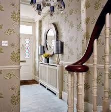 paint or wallpaper for interior walls of the house are durable and