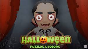 halloween puzzles and colors fun educational app for kids