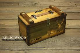 Personalized Wooden Boxes Custom Wooden Shooters Box