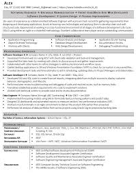 Resume For Software Engineer Bad Resume Example And How We Fixed It Zipjob
