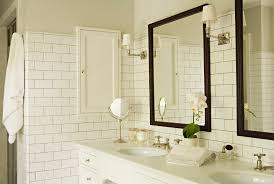 Traditional Bathroom Mirror Brass Bathroom Cabinets With Bathroom Lighting Bathroom
