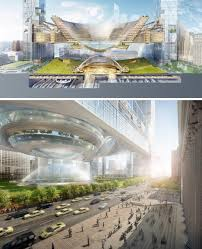 Park Design Ideas Sky Park Design Idea Floats City Block Over Penn Station Urbanist