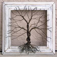 original wire tree abstract sculpture by giacomelli 85 00