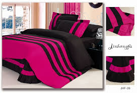 Fuchsia Comforter Set Pink And Black Bedding Full Size Of Bedding Setsbed Walmart