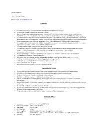 Keywords In Resume Autosys Trainer Cv