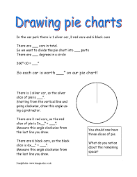 pie charts doingmaths free maths worksheets