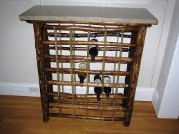 wall mounted wine racks completed glass holder u2014 jen u0026 joes design