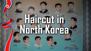 haircut in north korea youtube