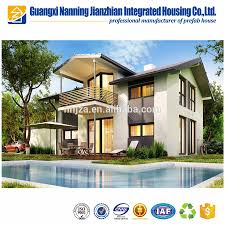 Prefab House by Quick Assembling Cost Save Two Layer Foamed Cement Board House