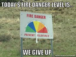 Only You Can Prevent Forest Fires Meme - wildfire the red elm