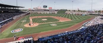 Chicago Cubs Seat Map by Sloan Park Chicago Cubs