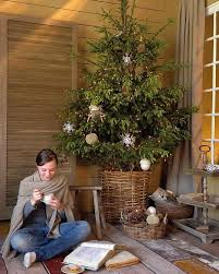 accessories fascinating simple and natural christmas tree