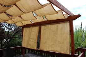 outdoor curtains for pergola with stylish pergola roof curtains