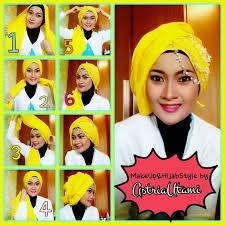 tutorial makeup natural hijab pesta tutorial hijab pesta simple for 2015 tutorial hijab pesta simple