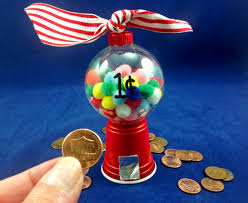 a gumball machine ornament is a unique and perfect gift that will