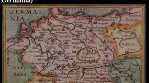 germania map maps of germany aka germania from 1588 to 1860