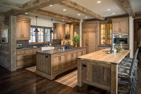 Black Countertop Kitchen - rustic wood countertops kitchen rustic with beige wall black