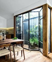 separation de cuisine separation de cuisine en verre cloison amovible en fer et verre