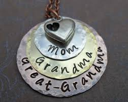 great grandmother necklace great etsy