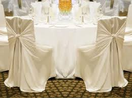 ivory chair covers your choice 100 ivory universal chair covers reception decoration